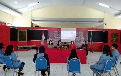 Mahasiswa FIB melaksanakan program Kampus Merdeka di Dinas Kebudayaan Sulawesi Utara