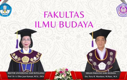 Tiga Mahasiswa Prodi Sastra Indonesia FIB Unsrat diwisuda hari ini 20 Mei 2021