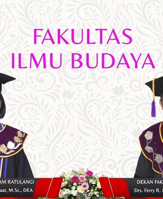 21 Mahasiswa FIB Unsrat diwisuda hari ini 20 Mei 2021