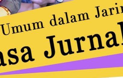 Kuliah Umum Bahasa Jurnalistik, Jumat 11 Juni 2021