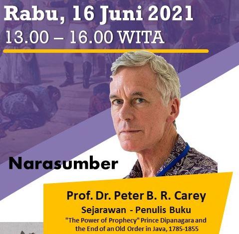 Kuliah Umum Prof. Dr. Peter Carey