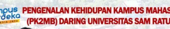 Pendaftaran PKKMB Universitas Sam Ratulangi tahun 2021